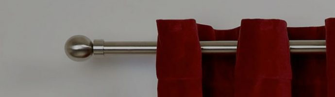 Curtain rail replacement and rehanging curtains